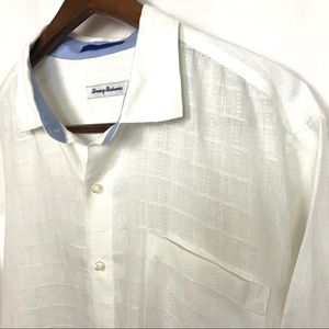 Tommy Bahama Mens 100% Linen Shirt Size XL
